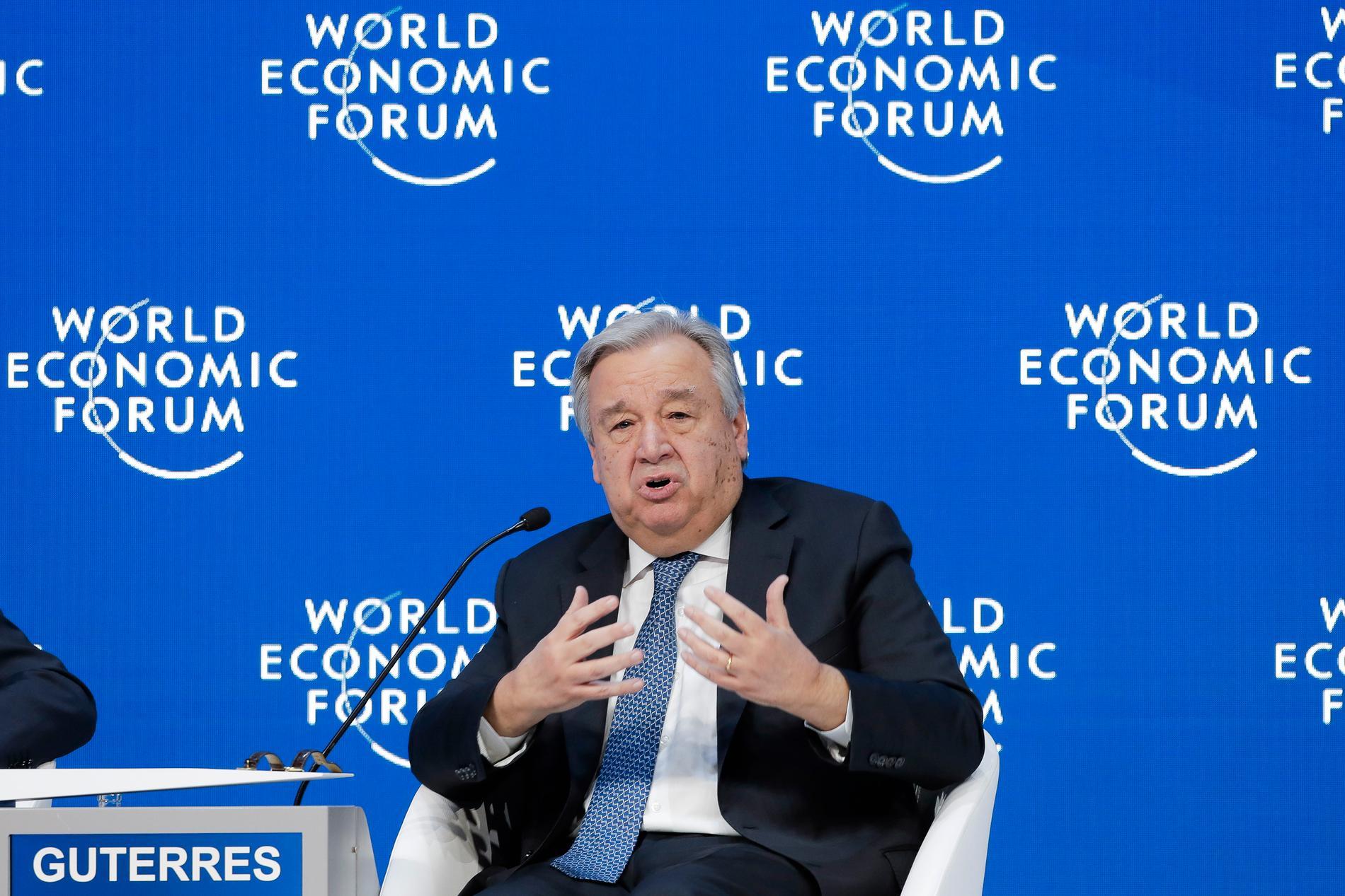 FN-chefen António Guterres.