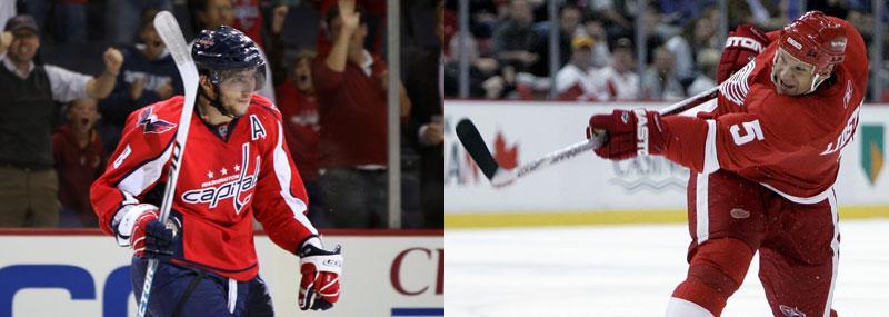 Bäst Enligt THN:s enkät var Alex Ovetjkin NHL:s mest värdefulla spelare under första halvan av säsongen. Lidström var bäste back.