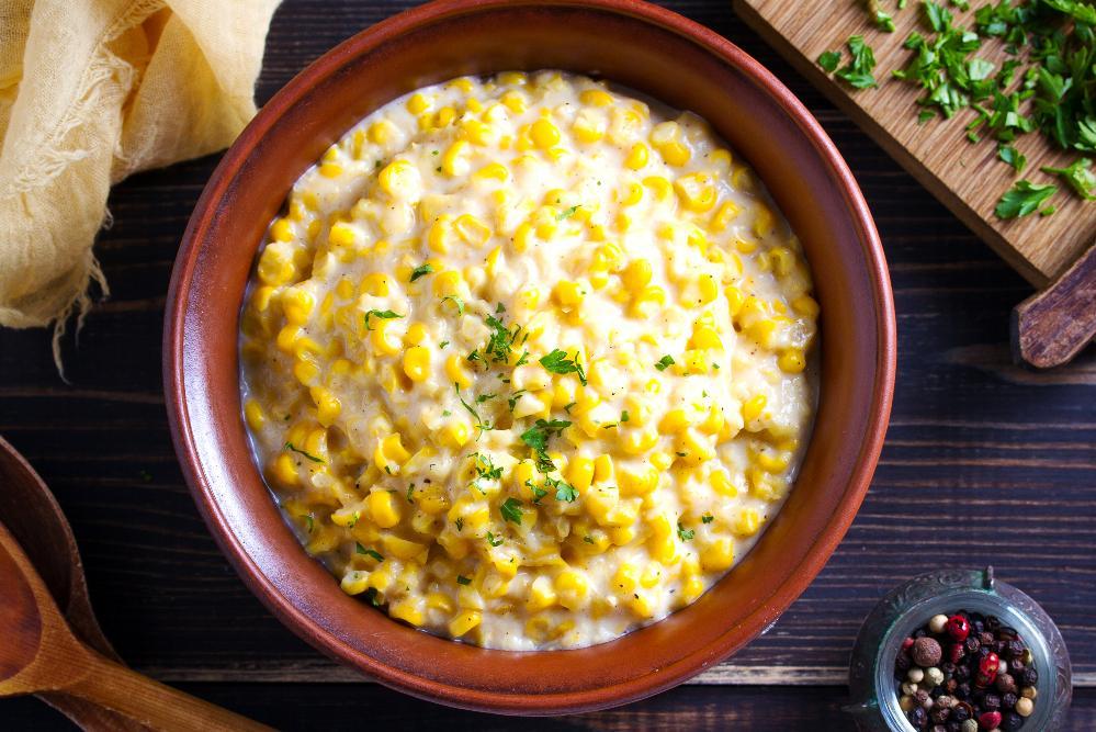 Majsdipp med ost till tacokvällen.