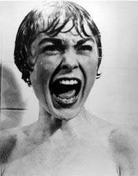 Janet Leigh hade ingen behaglig stund i duschen.
