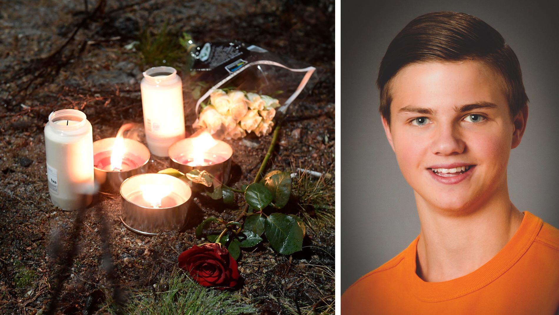 Carl Fredrikson dog av ett knivhugg.