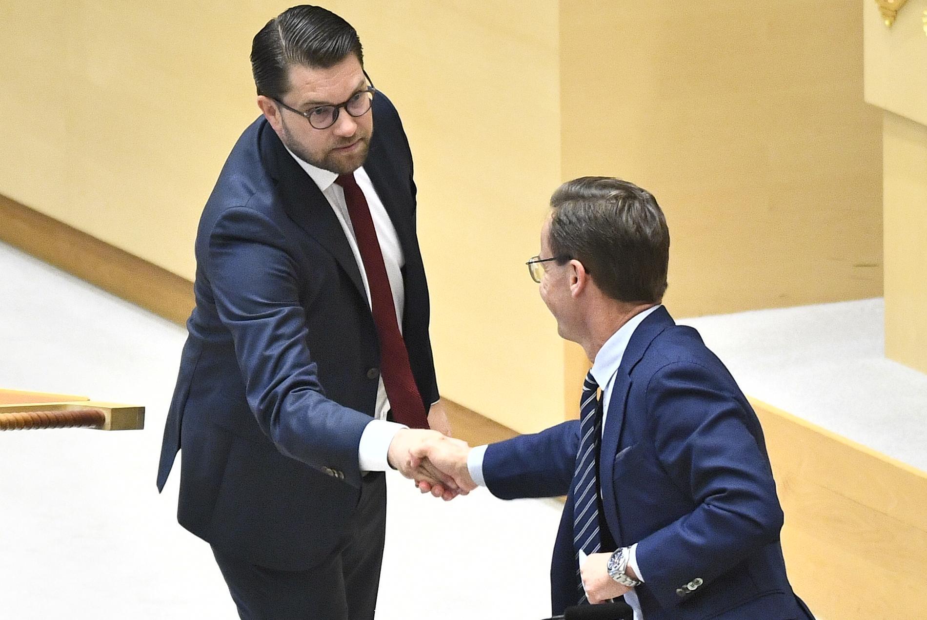 Åkesson och Kristersson.