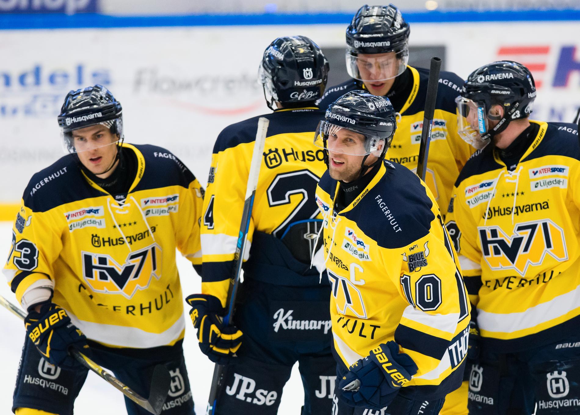 HV71 tog tidigt hand om taktpinnen hemma mot Mora och vann komfortabelt med 5–0.