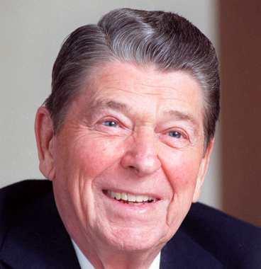 Ronald Reagan - med humorn som vapen.