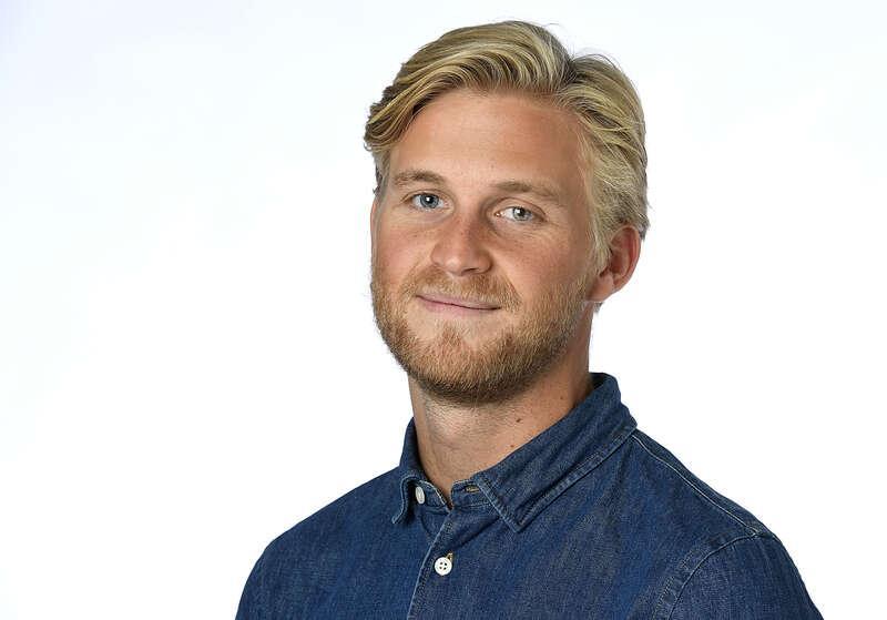 Mikael Sjöstrand, meteorolog på Klart.se.