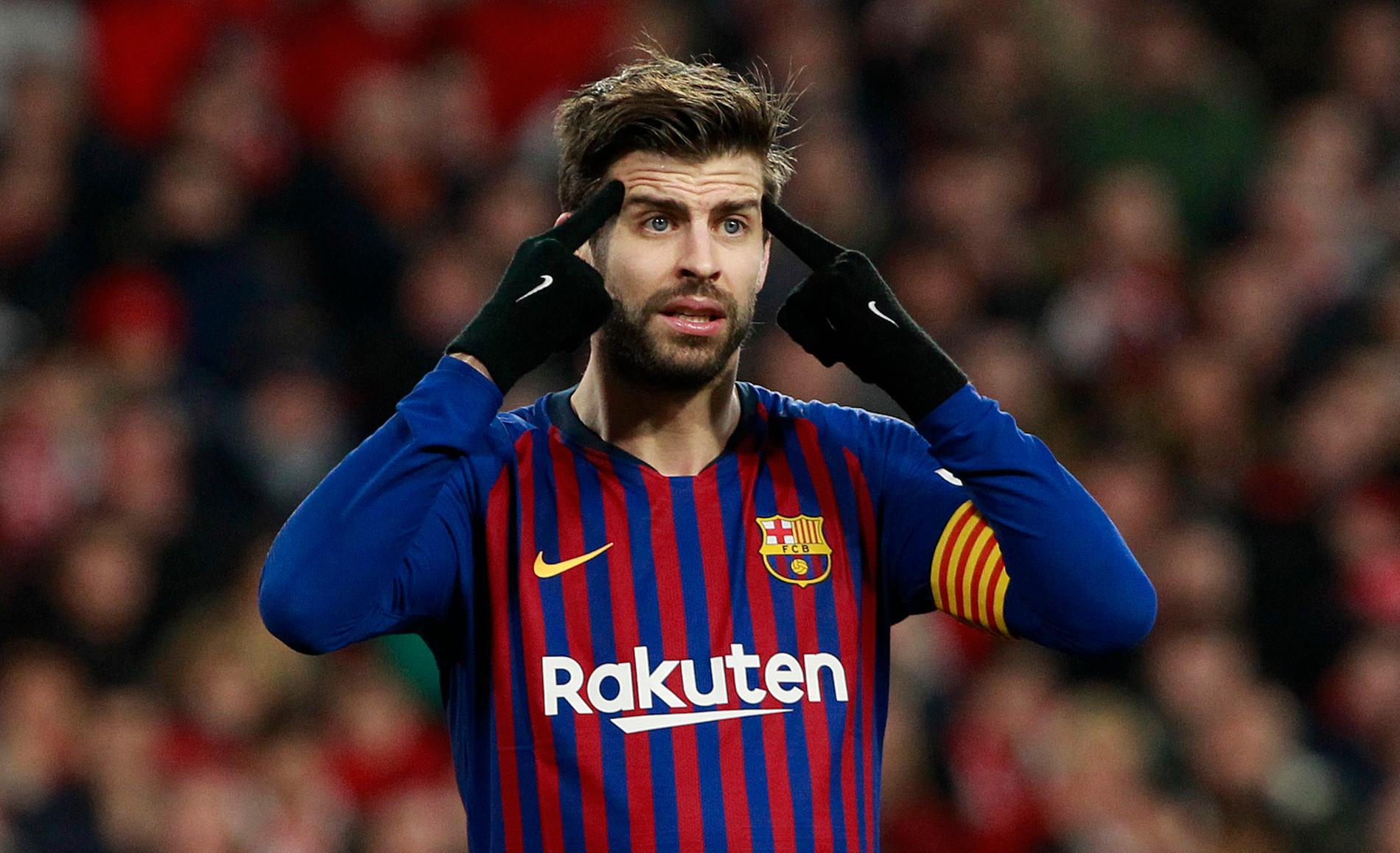 Gerard Piqué har riktat stark kritik mot Barça-styrelsen i veckan.