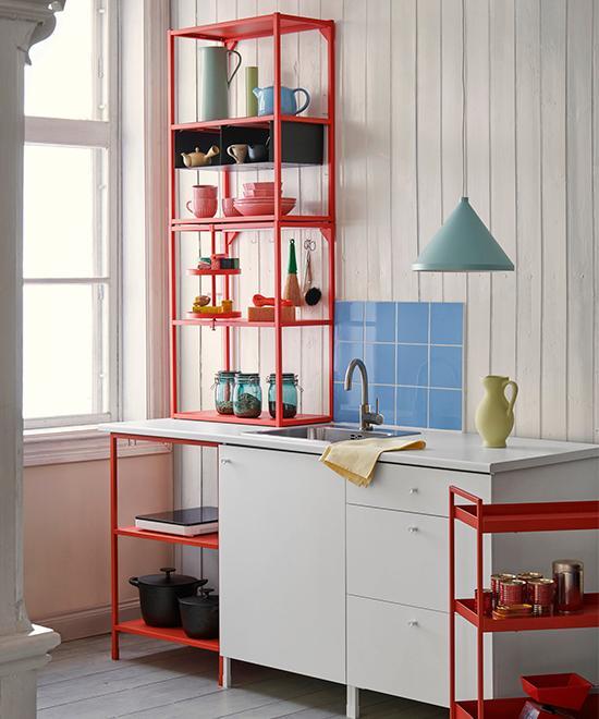 Minikök från Ikea.