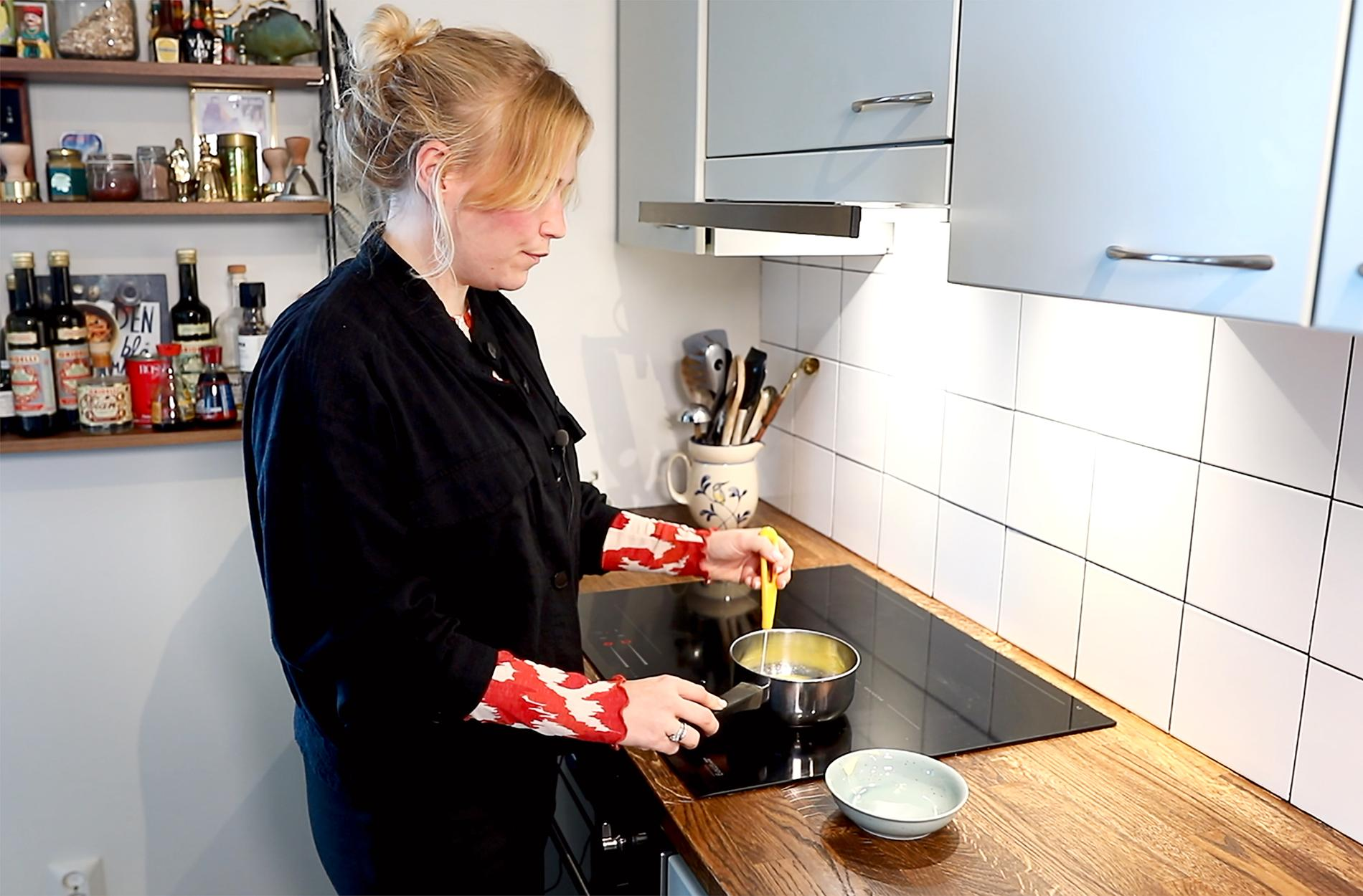 Enligt Frida Lund är brynt smör är den ultimata smakförhöjaren.