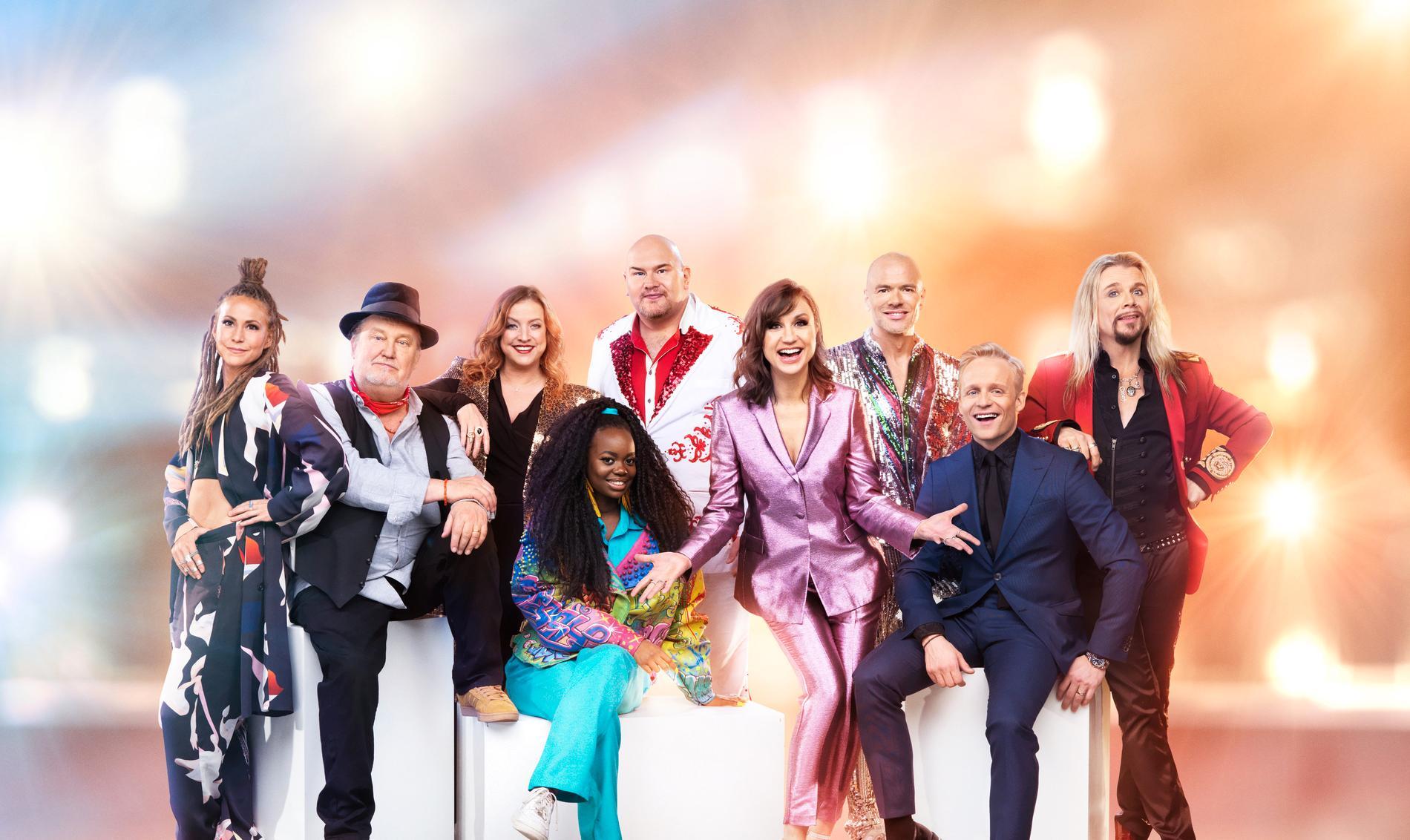 """Underhållningsprogrammet """"Stjärnornas stjärna"""" är tillbaka i vår med åtta nya artister som ska tävla mot varandra."""