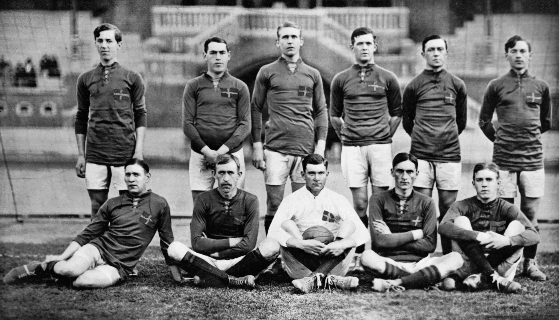 Svenska OS-laget 1912.