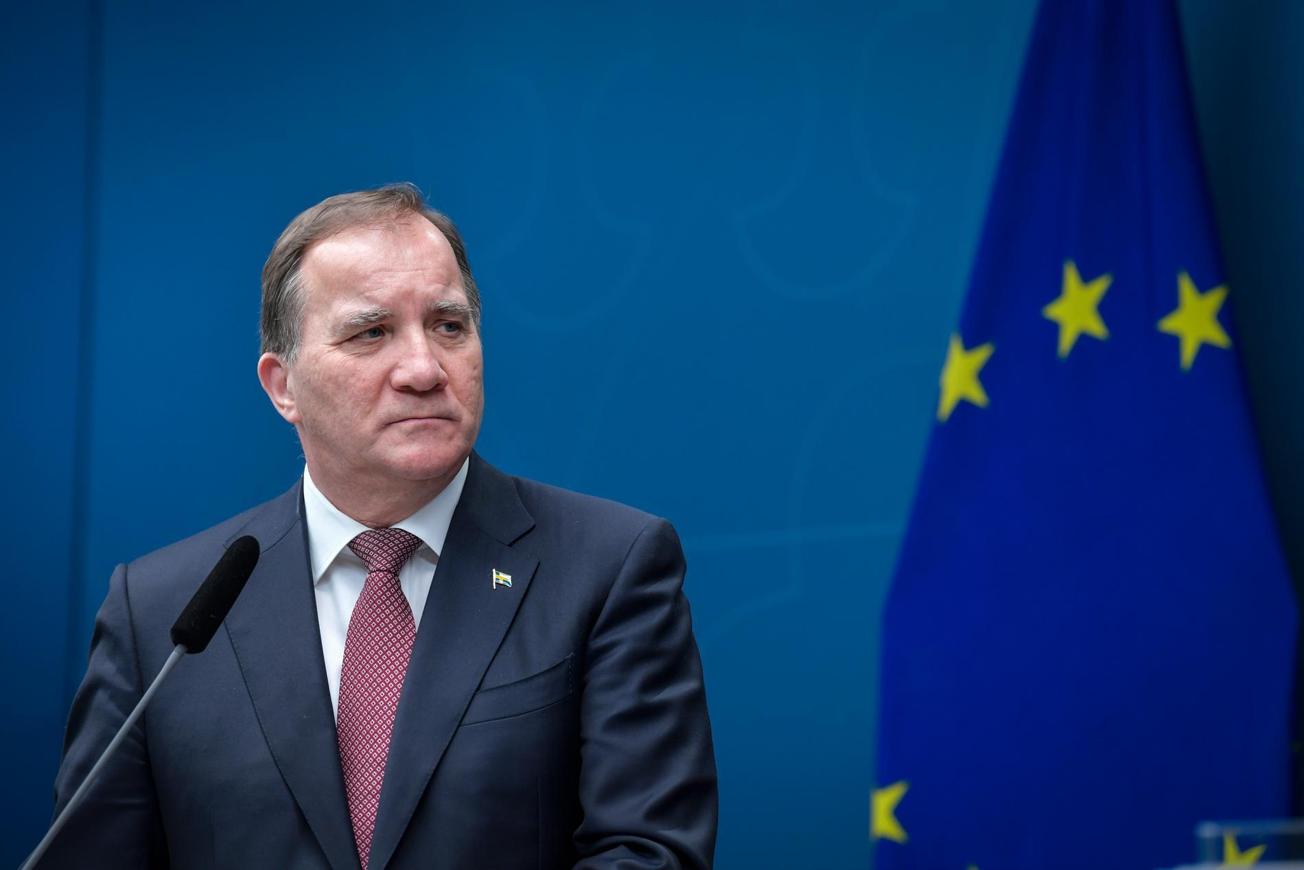 Statsministern ska ha besökt en butik på Kungsgatan i centrala Stockholm.