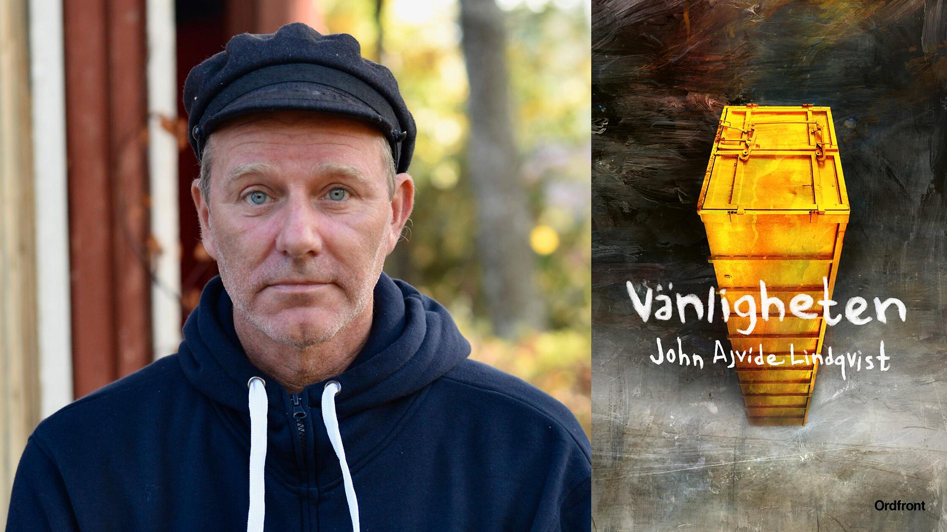 """John Ajvide Lindqvist (född 1968) slog igenom med skräckromanen """"Låt den rätte komma in"""" 2004."""