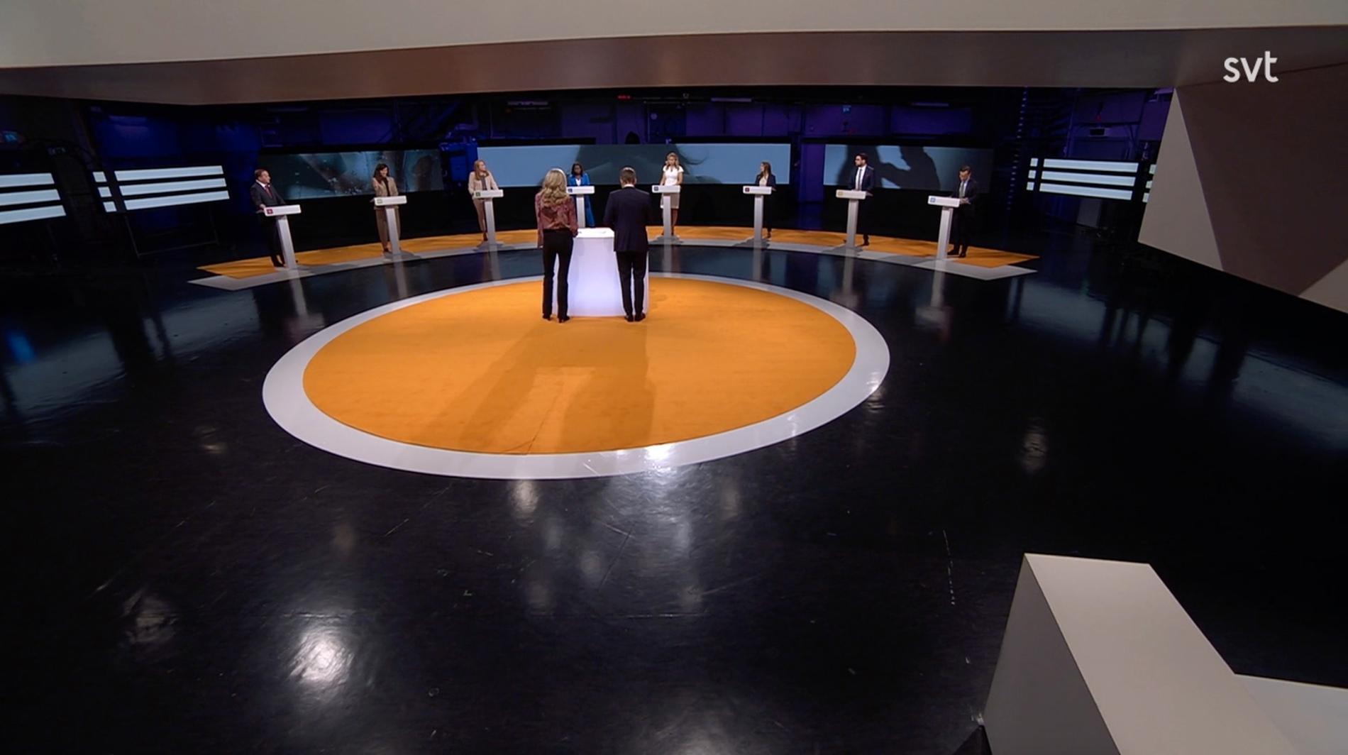 Söndagens partiledardebatt i Agenda.