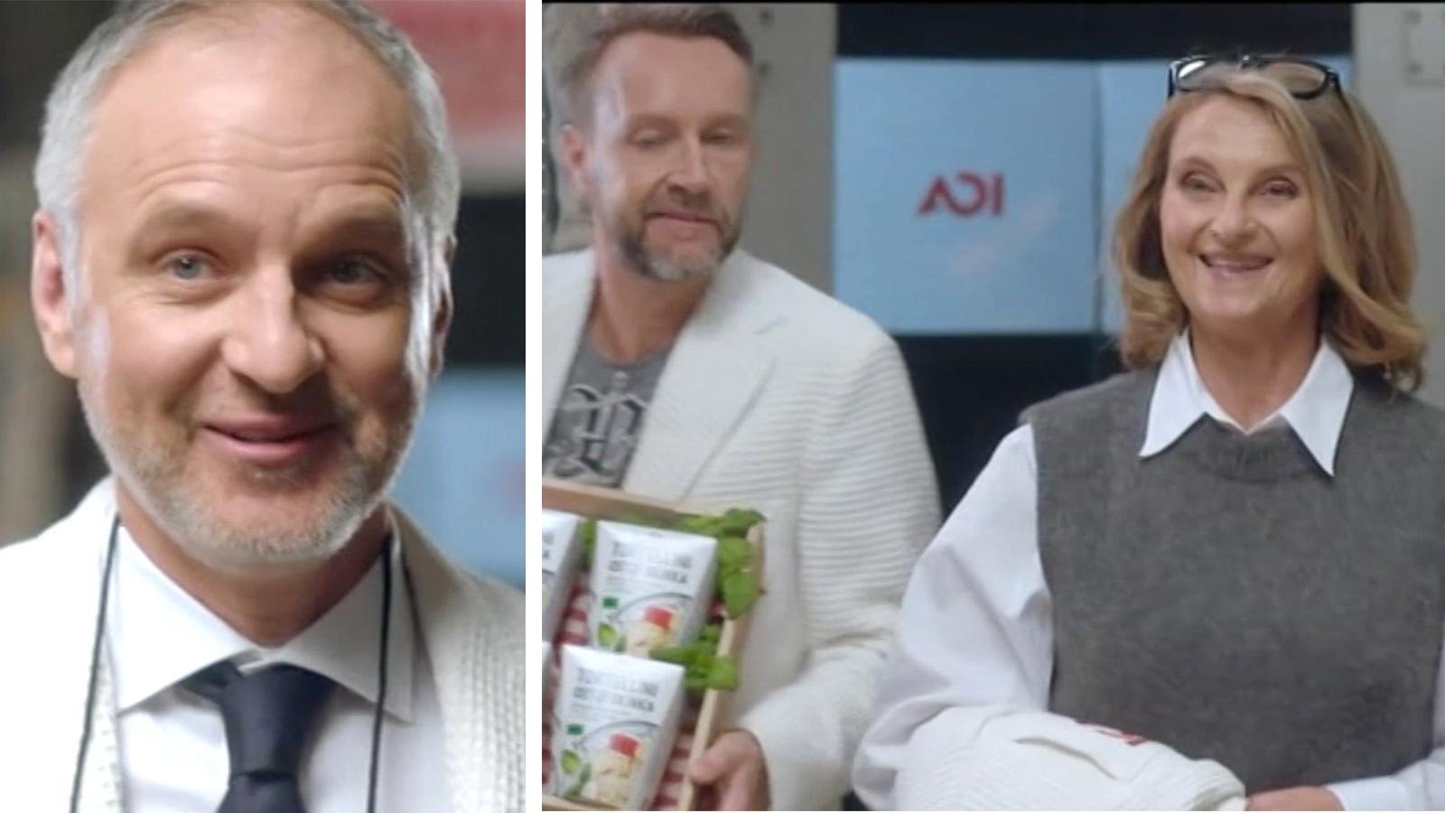Björn Kjellman (vänstra bilden) och Suzanne Reuter gör Paul Tilly och de andra i Ica-reklamen sällskap framöver.