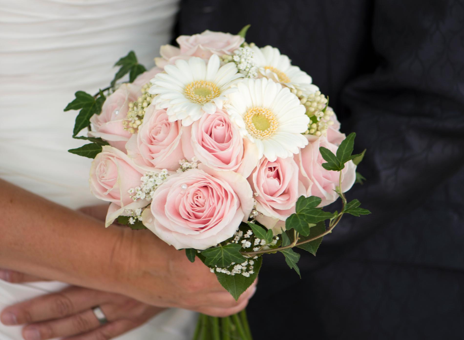 För många gäster kom till bröllopet. Arkivbild.