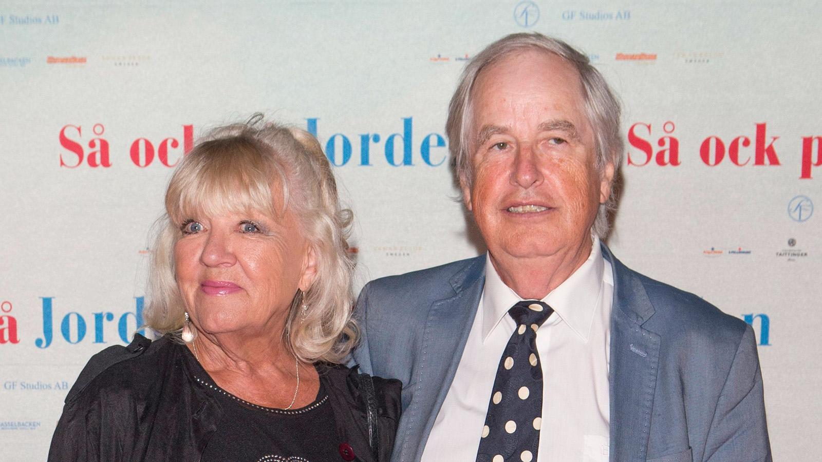 Monica och Carl-Axel Dominique träffades i tonåren och fyller nästa år 60 år som gifta.
