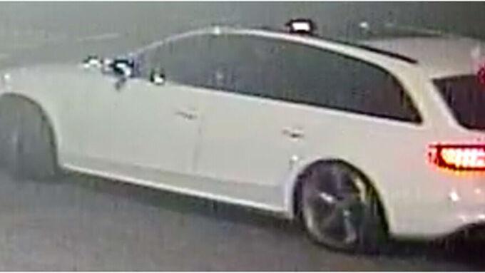 Bilen sätts i samband med mordet.