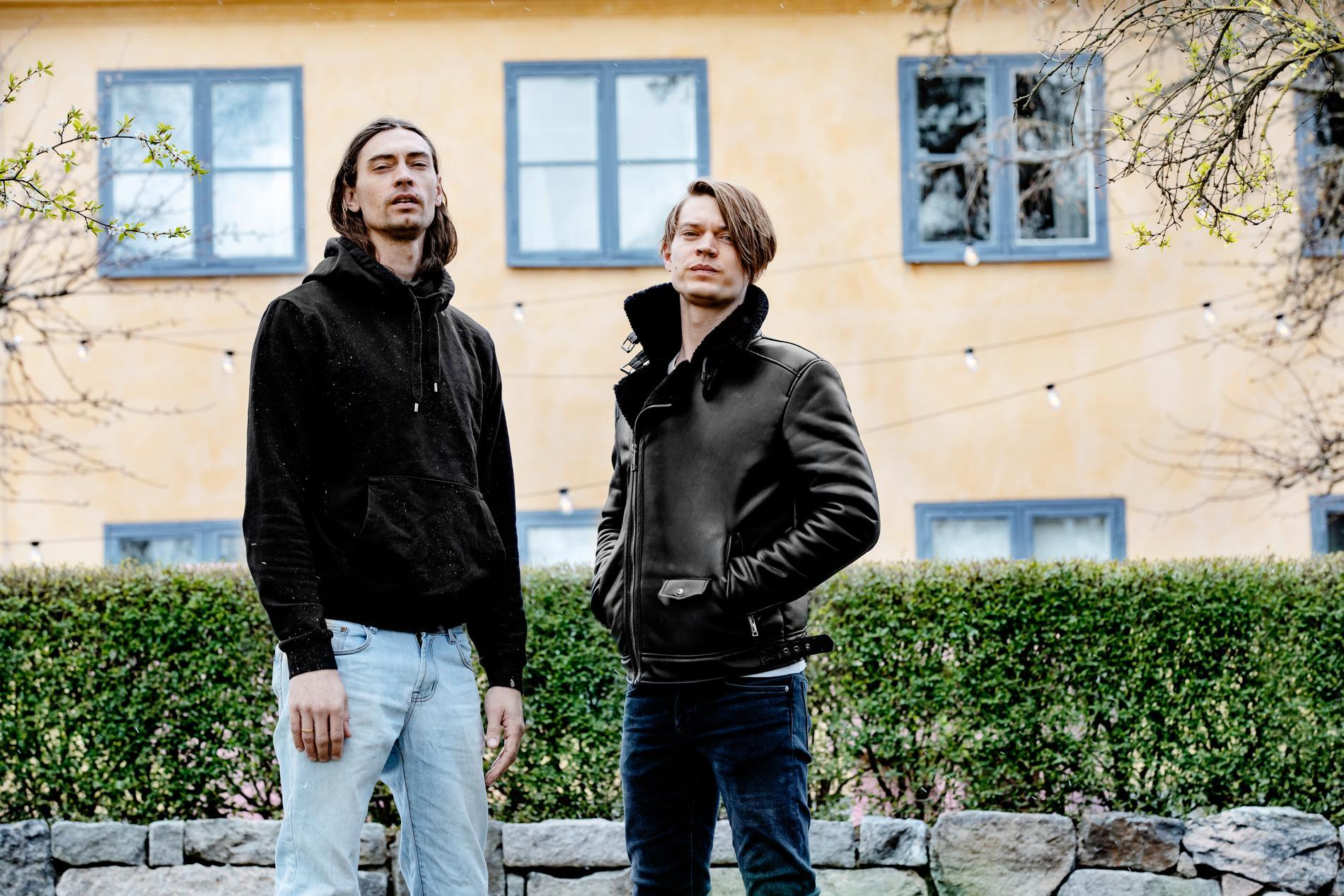 Bröderna Gustaf Norén (tidigare Mando Diao) och Viktor Norén (tidigare Sugarplum Fairy).