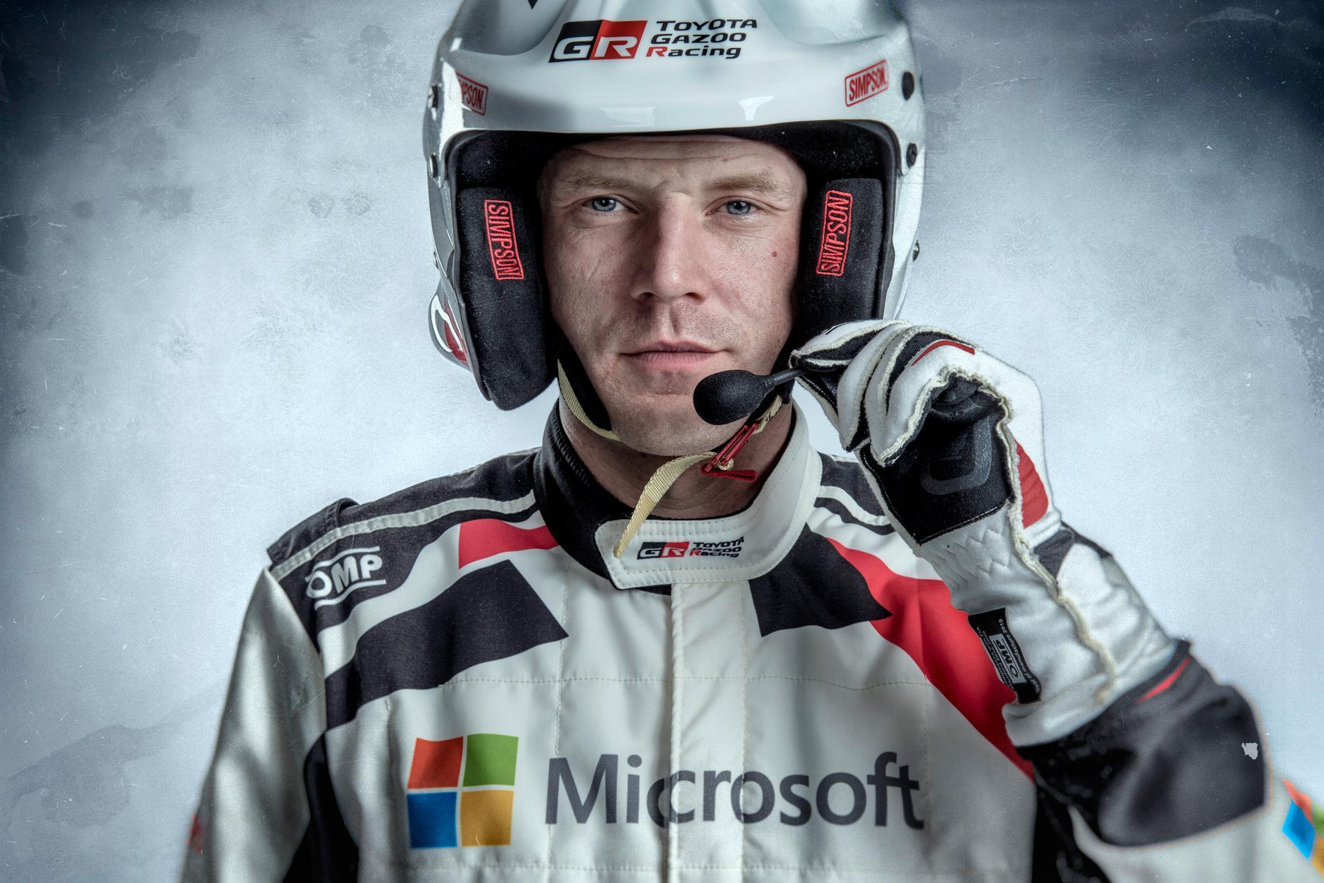 Jari Matti Latvala historisk i Rally Sweden, kör sitt 197:e VM-lopp.