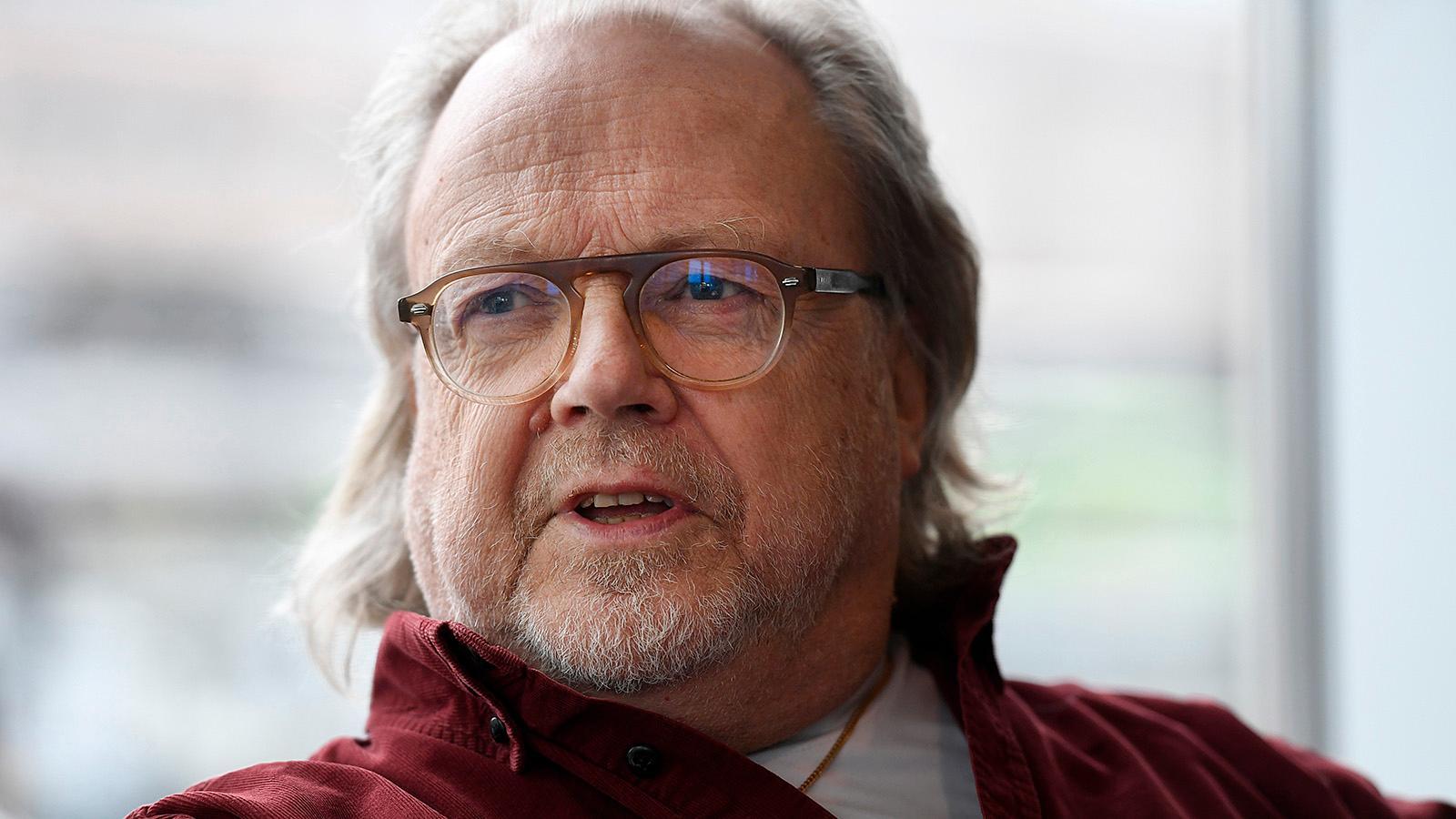 Musikern och producenten Lasse Lindbom.