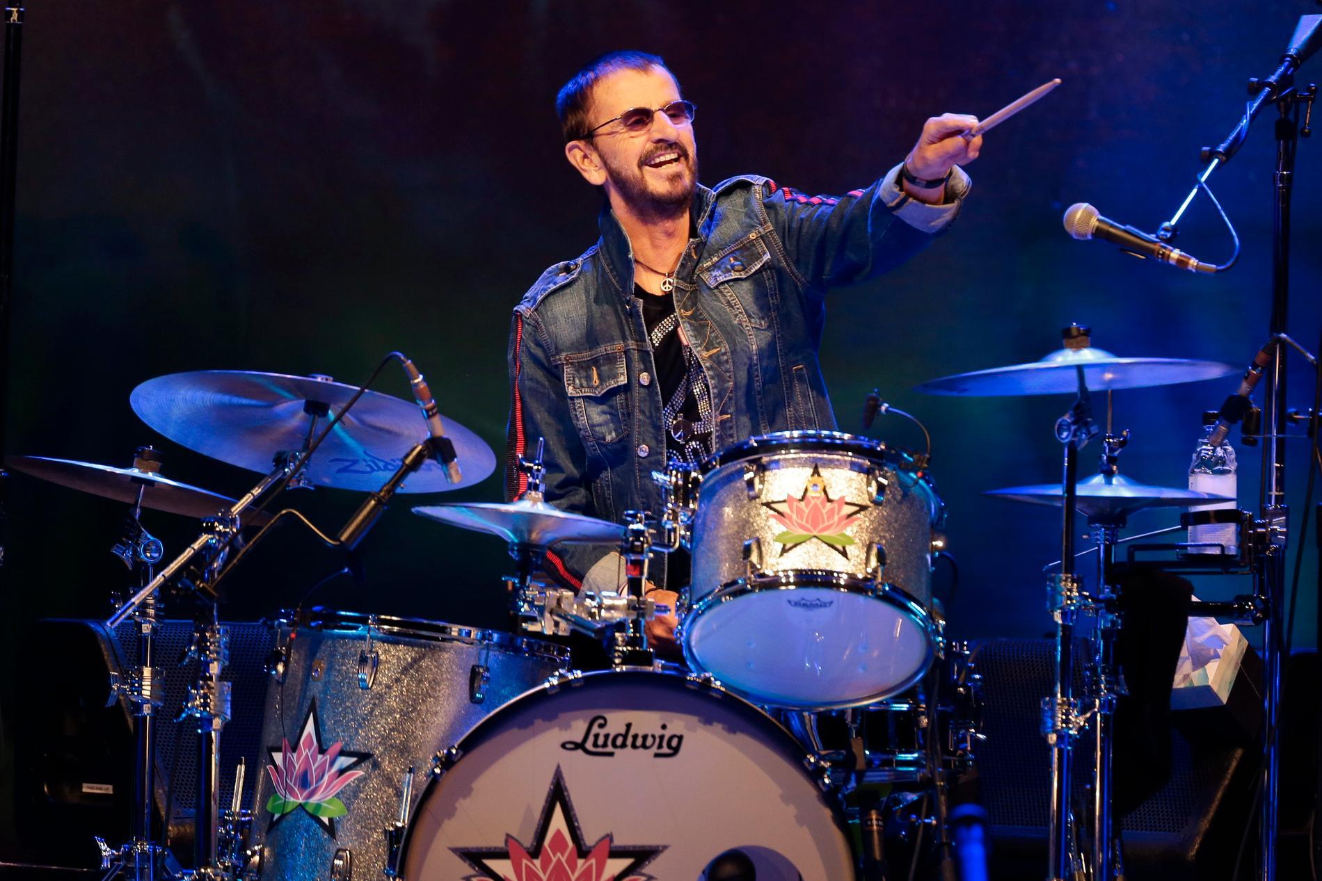 Ringo Starr under firandet av Woodstock 50 år 2019.