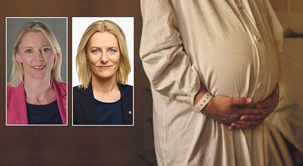 """Åsa Westlund och Erika Ullberg skriver: """"Stockholms förlossningsvård är i kris. Antalet kvinnor som avvisas när de ska föda, och istället får ta sig till ett annat landsting ökar. Samtidigt är andelen kvinnor med förlossningsskador högst i landet."""""""