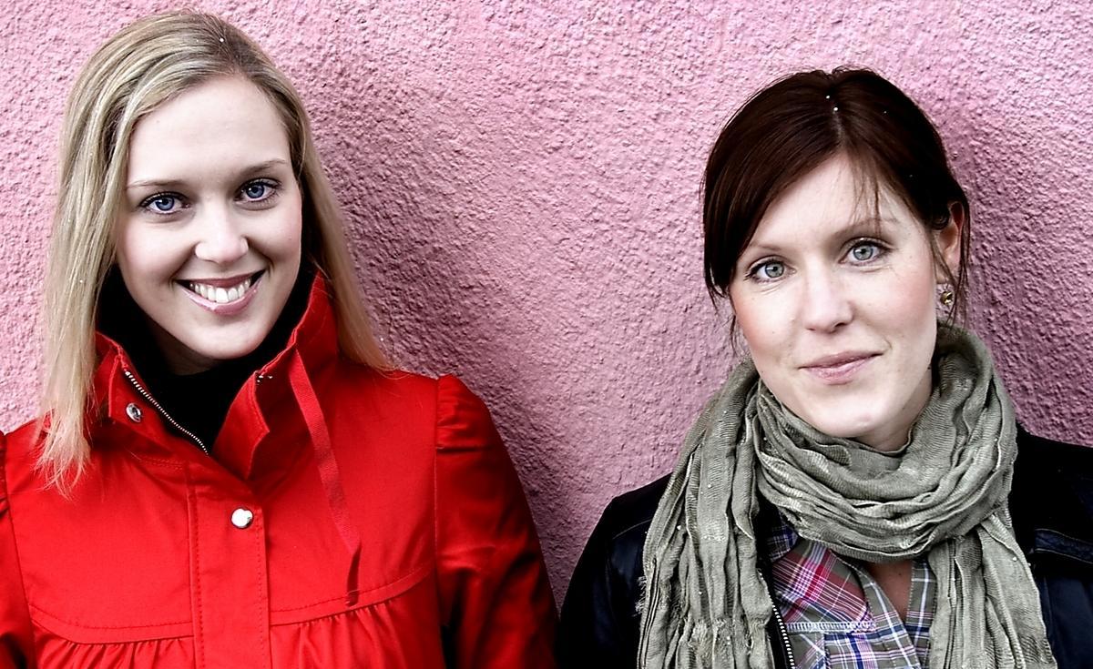"""Camilla Oldberg och Lisa Flink har startat hälsoföretaget Creo. """"Vi hoppas få ett större kontaktnät genom projektet"""", säger Camilla Oldberg."""