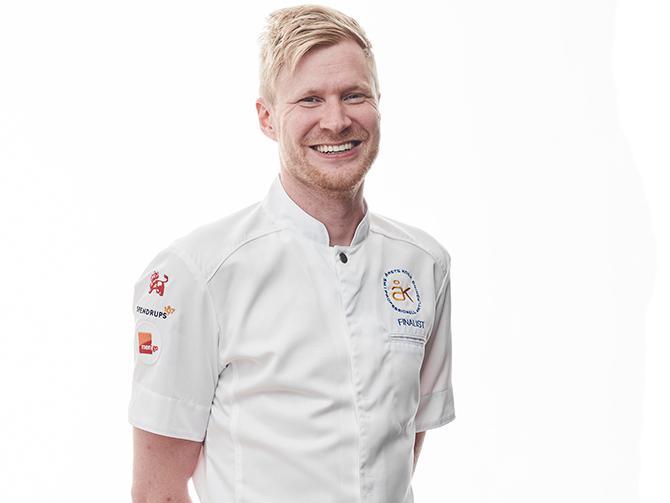 """LUQAZ OTTOSSON: """"Årets kock-final börjar bli en årlig tradition för mig. Den här tävlingen är så rolig, från arbetet med första inskicket ända in i mål."""""""