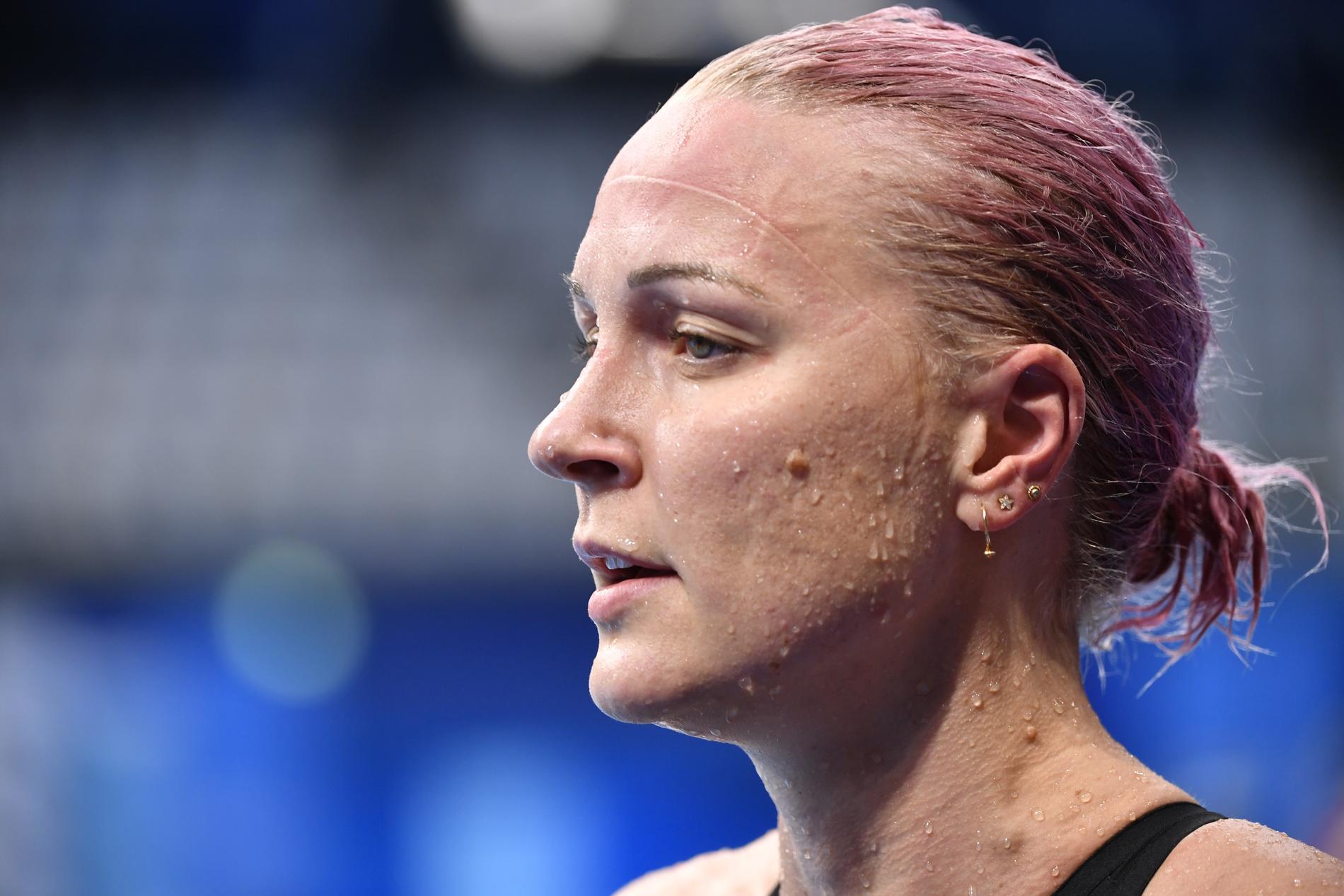 Sarah Sjöström vann 50 meter fritt för Energy Standard. Arkivbild.
