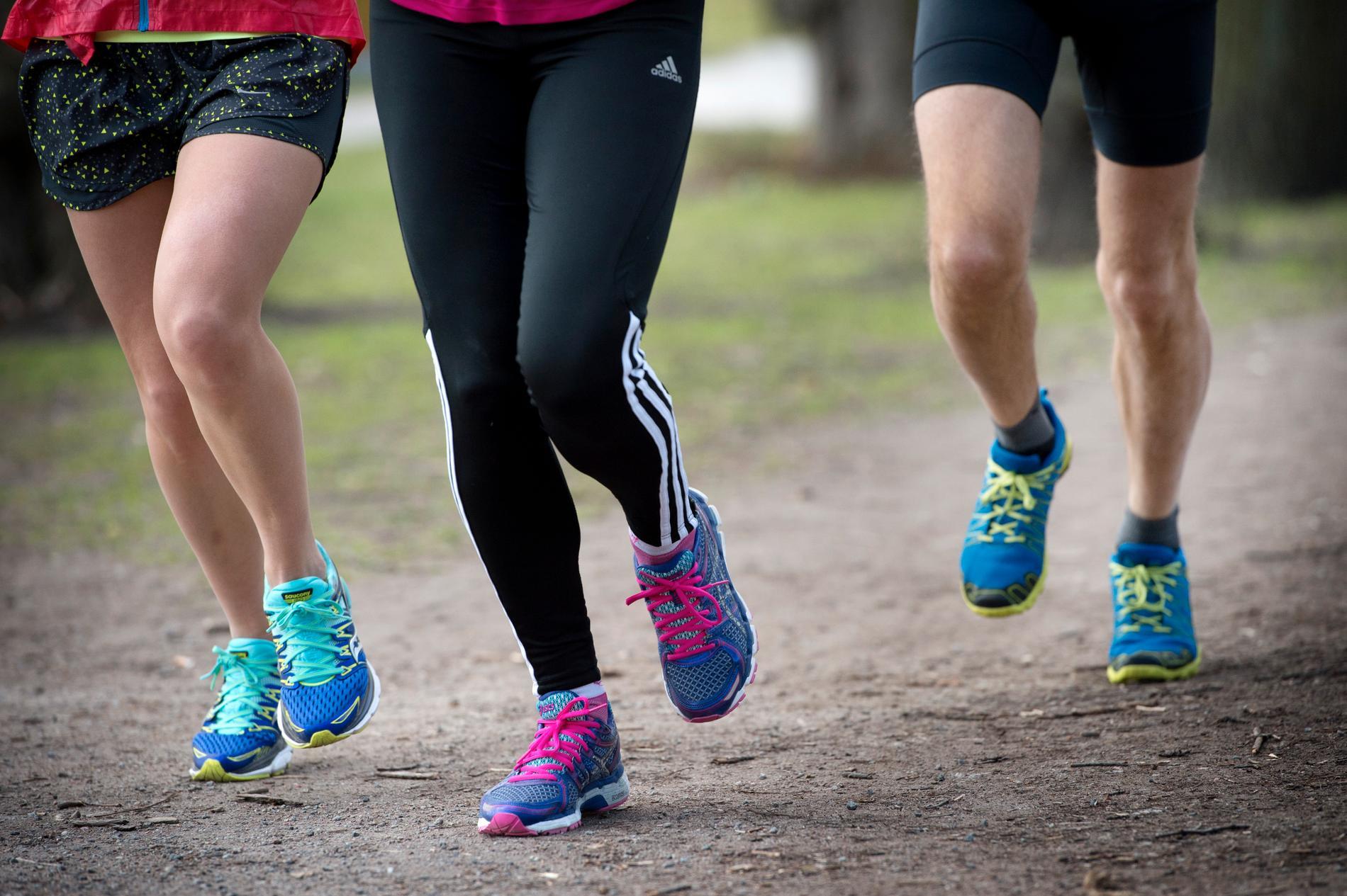 Hur mycket motionerar du? Given fråga i den folkhälsoenkät som skickas ut i dagarna. Arkivbild.