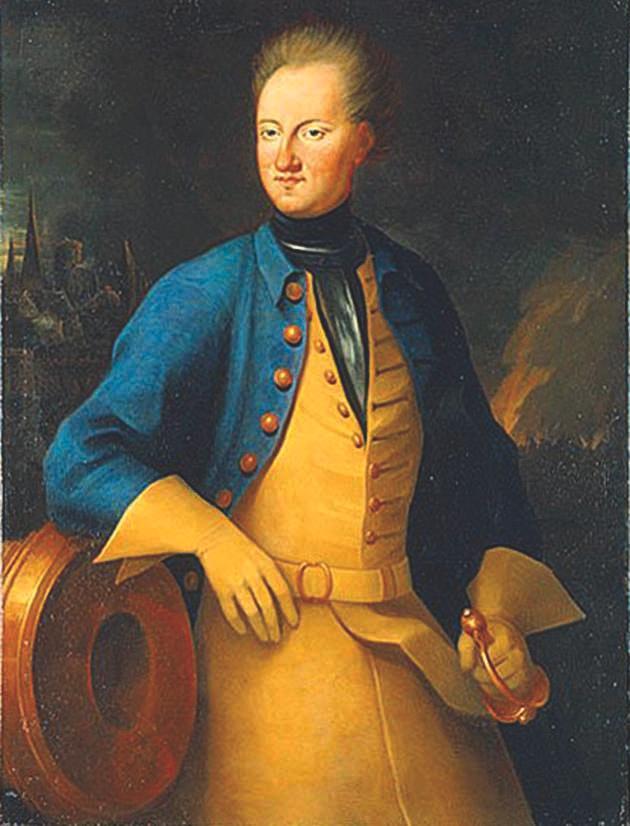 Karl XII sägs blev skjuten en kula, myten säger att det var en knapp, som genomborrade båda tinningarna och ledde till en omedelbar död.