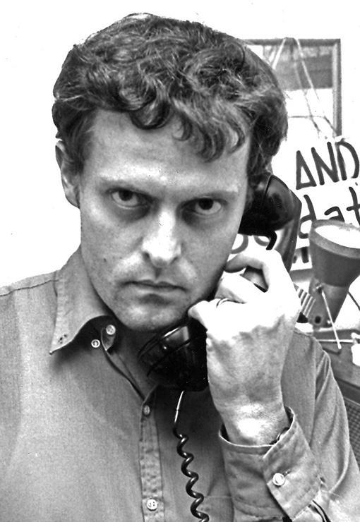 Öyvind Fahlström (1928–1976), konstnär, författare, kompositör och dramatiker.