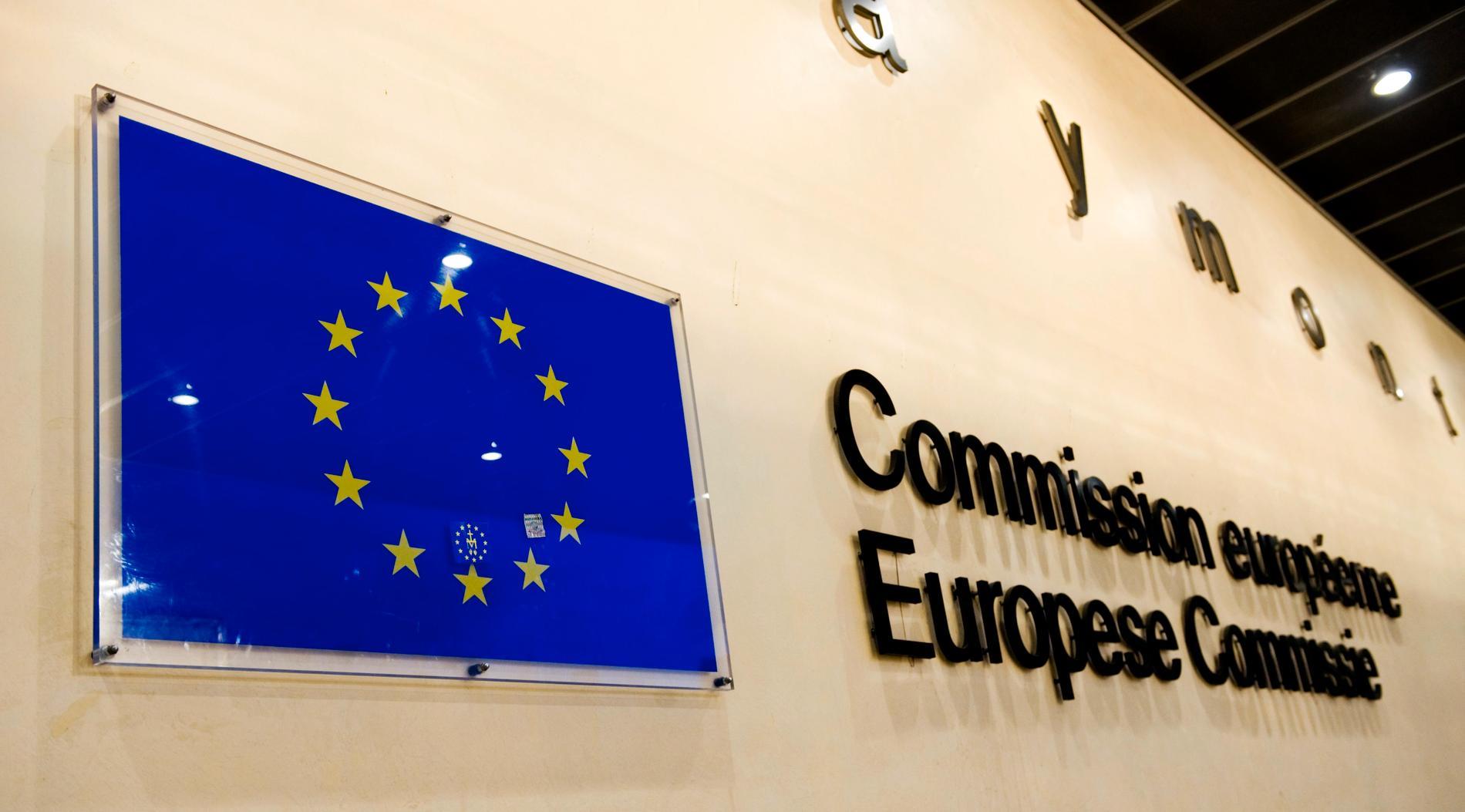 EU-kommissionens byggnad Berlaymont i Bryssel. Arkivfoto.