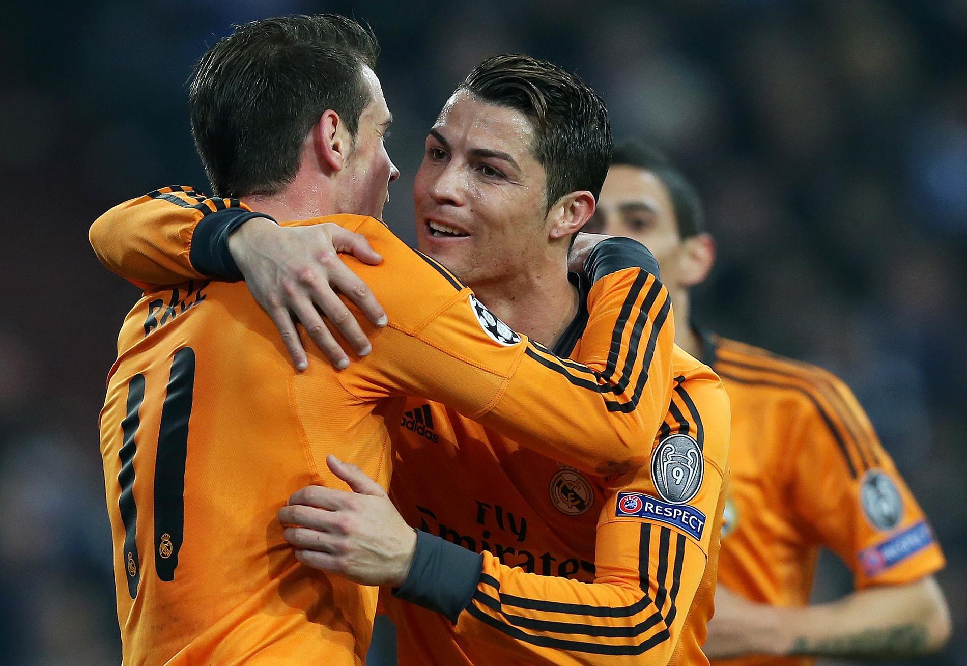 Bale och Ronaldo.
