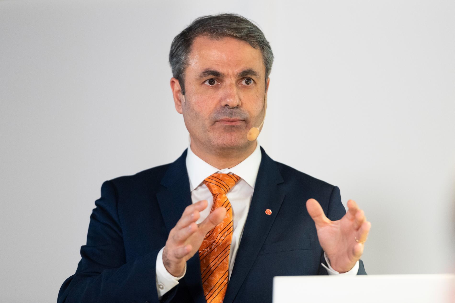 Närningsminister Ibrahim Baylan.