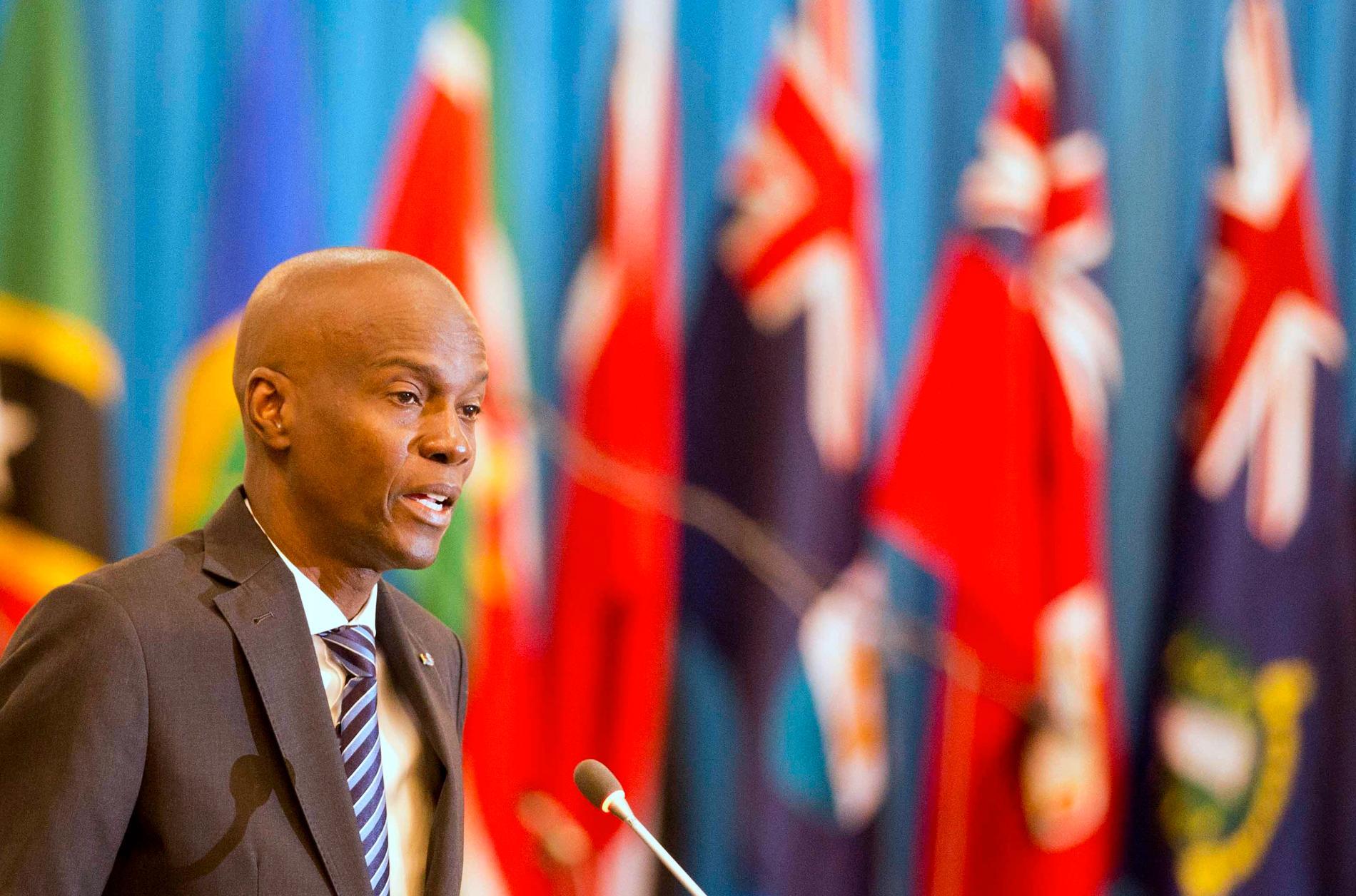 Haitis president Jovenel Moïse.