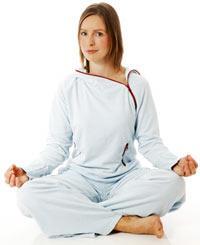 SVETTFRITT. Yoga är en bra sport för dig som inte gillar att träna på gym.