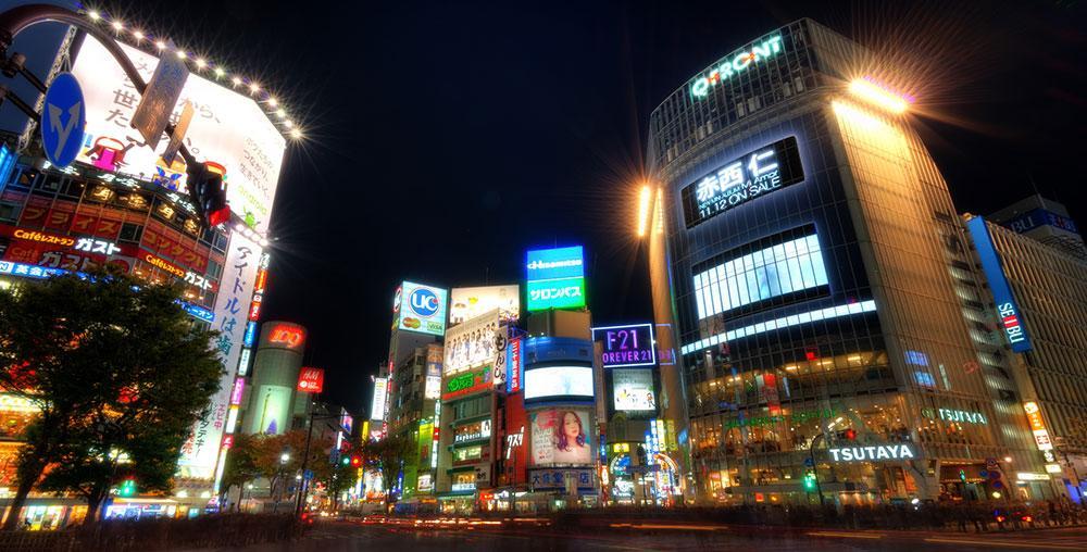 I stadsdelen Ginza hittar du många spännande restauranger.