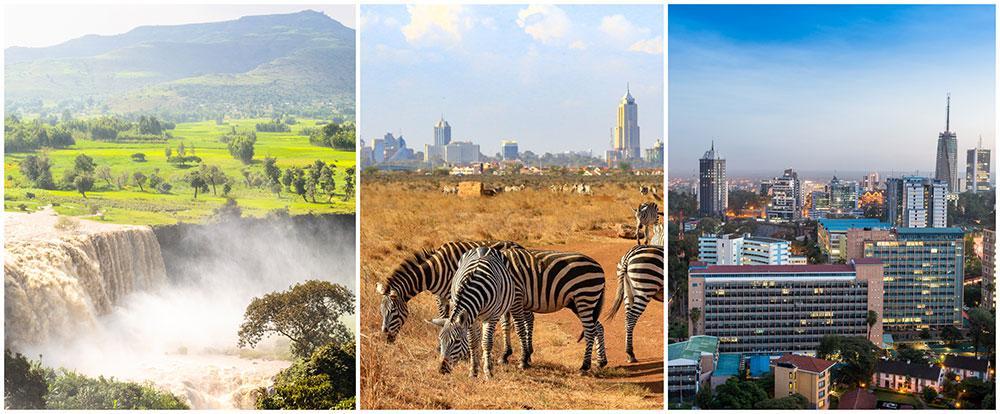 Afrika, Libanon och Iran ökar mest