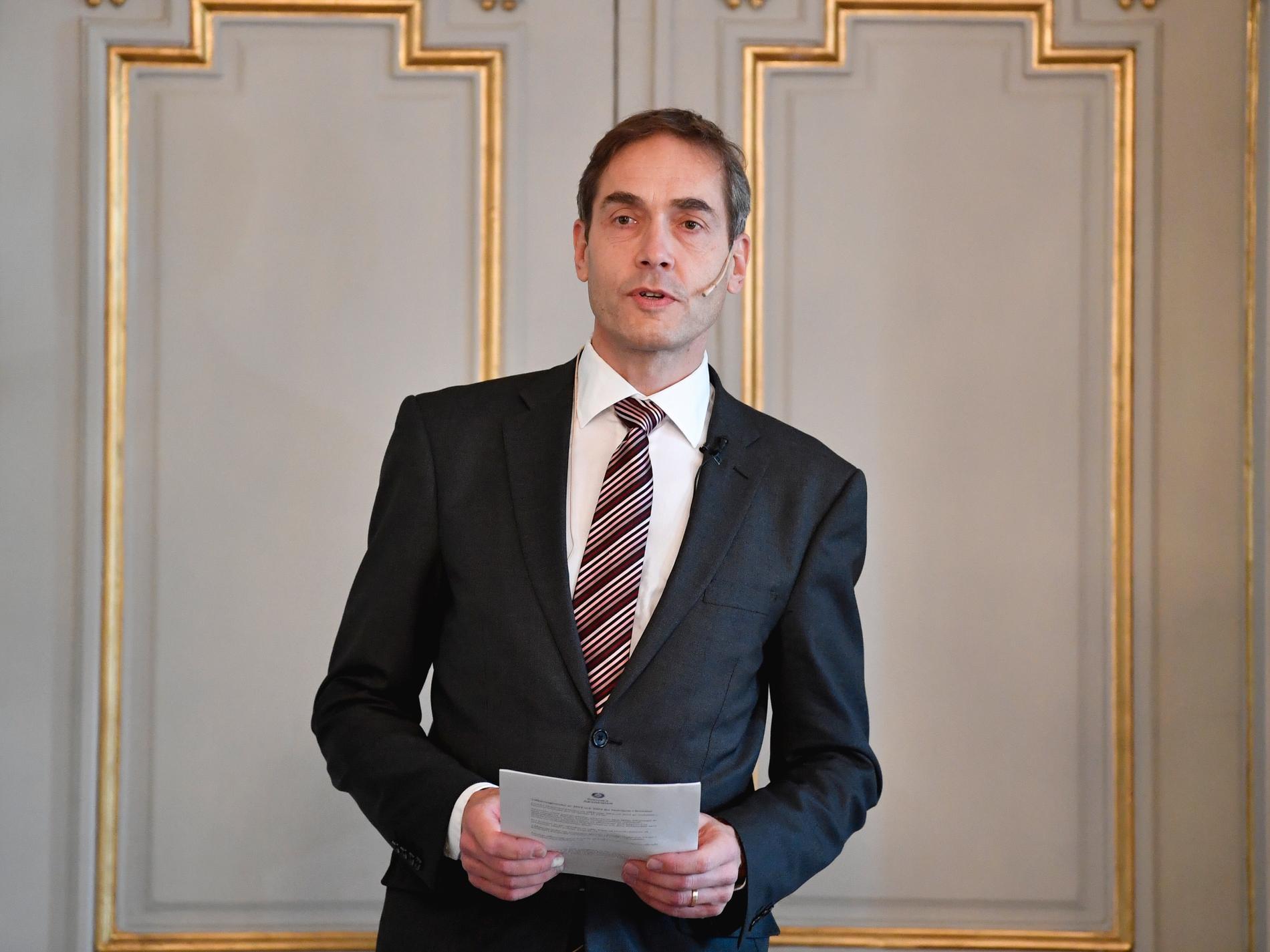 Mats Malm, Svenska Akademiens ständige sekreterare, kommer att presentera årets pristagare imorgon.