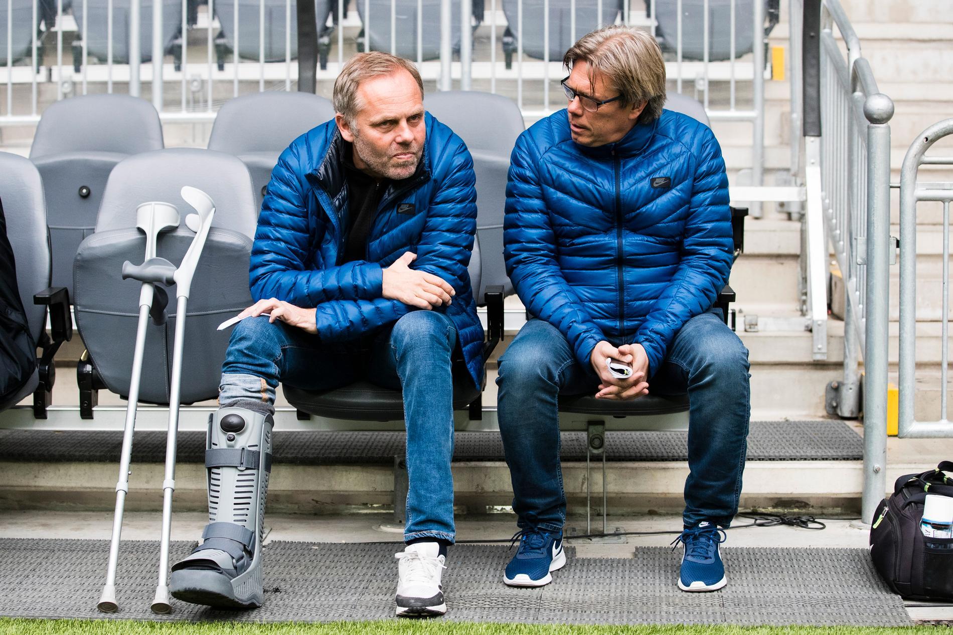 Anders Johansson och Pelle Olsson.