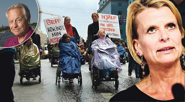 Regeringen och Åsa Regnér är ute efter att sänka standarden för assistansanvändarna, men vill ogärna tala klartext, skriver Bengt Westerberg.