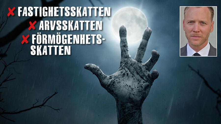 Zombieskatternas återkomst är långt ifrån uteslutna. Det vore farligt för Sverige och skulle drabba många vanliga bostadsägare hårt, skriver Christian Ekström.