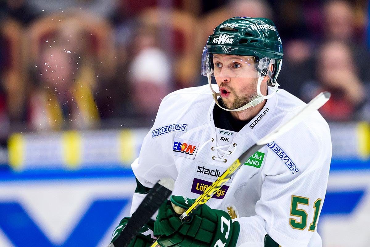 Rickard Wallin har spelat större delen av sin karriär i Färjestad.