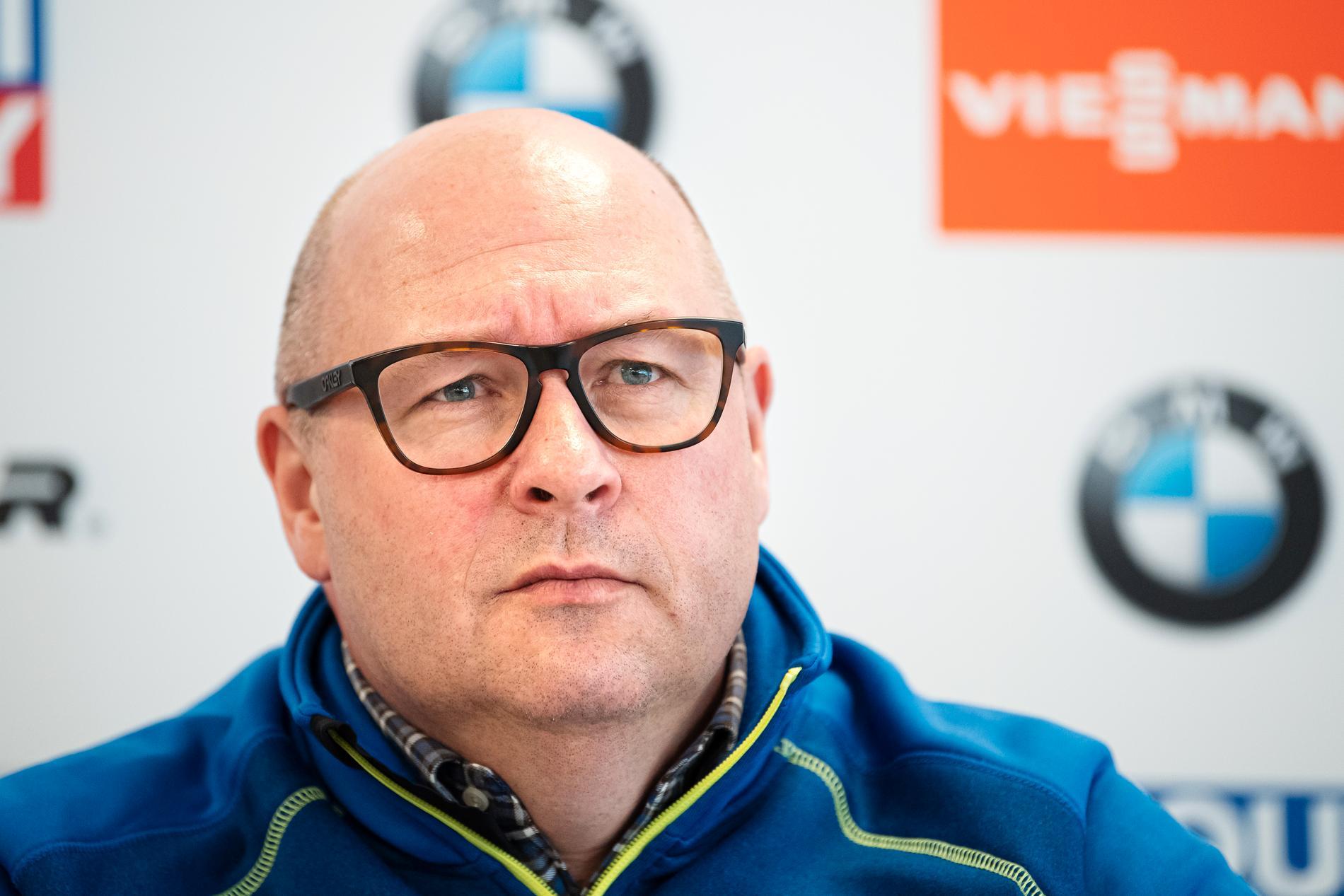 Niklas Carlsson, IBU:s generalsekreterare.