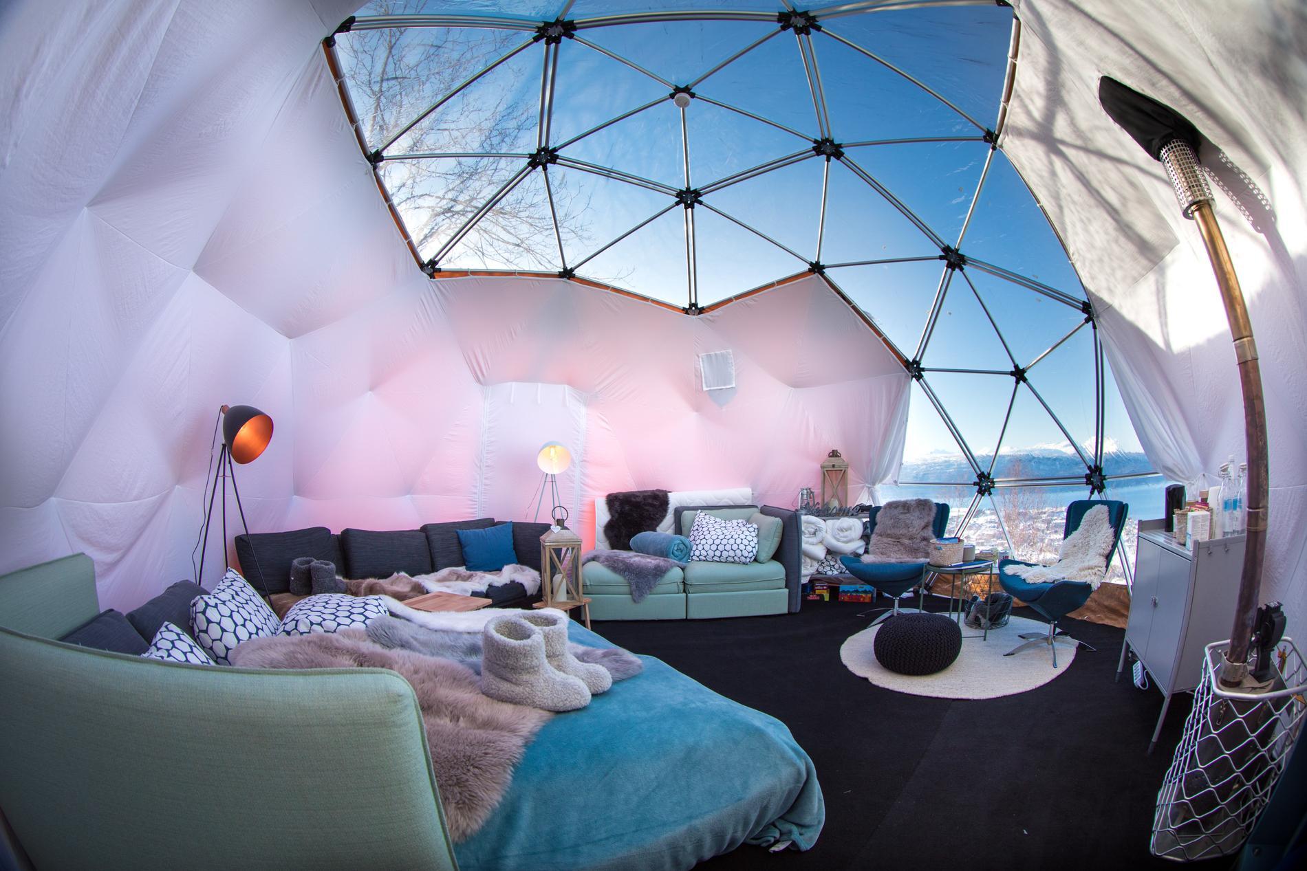 Arctic Dome i Narvik bjuder på lyx och natur.