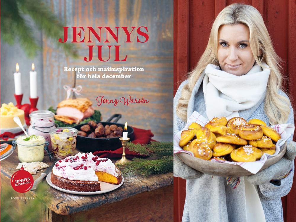 Jenny Warsén och hennes nya bok Jennys jul.