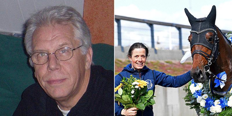 Bengt Olvenmark hyllar Rotates skötare – Jenny Nordensson.