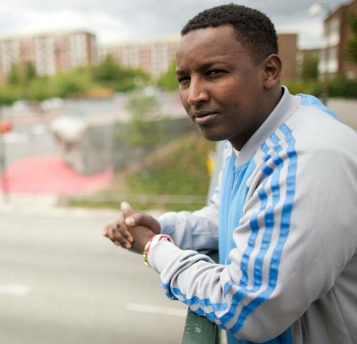 Hashim Abdukarem är ordförande i Somaliska Freds.