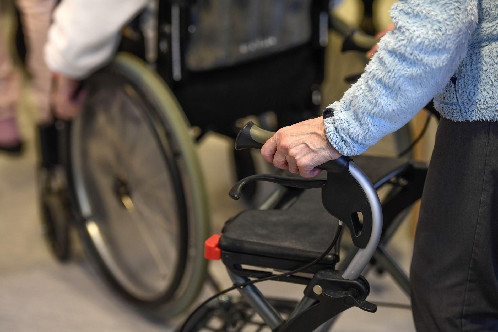 Boende på äldreboende. OBS: Arkivbild.